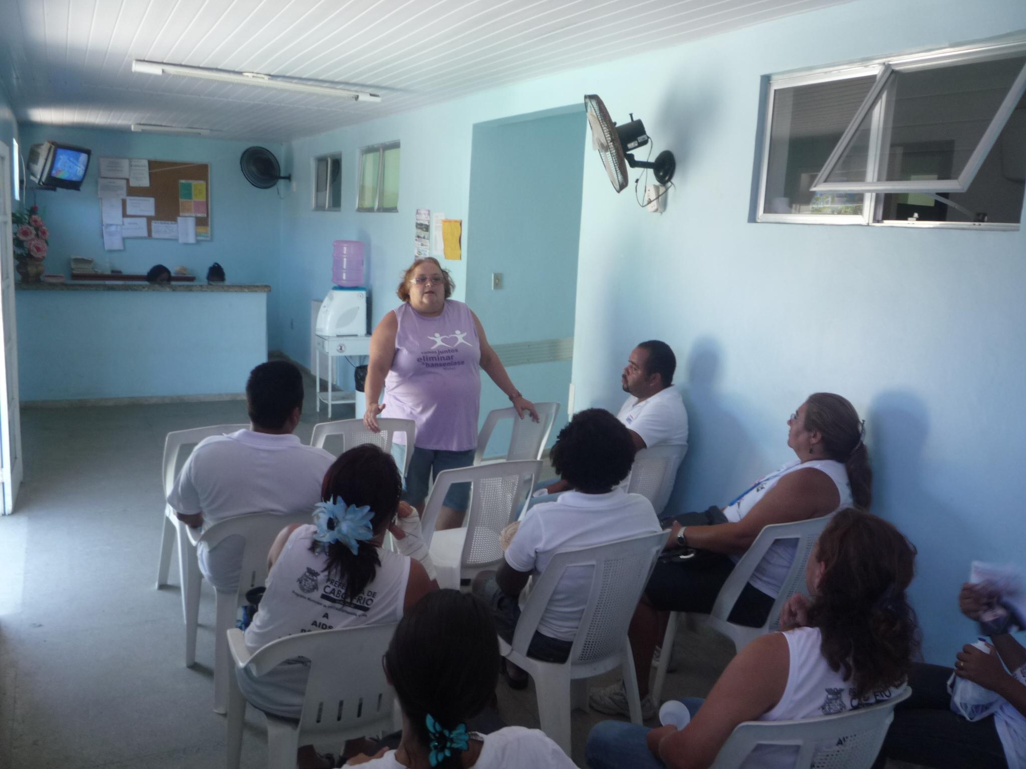 Campanha em Cabo Frio (RJ)