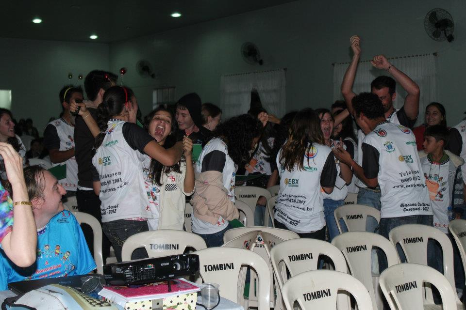 Gincana da Educação da Regional de Cascável - 16 e 17/05 2012