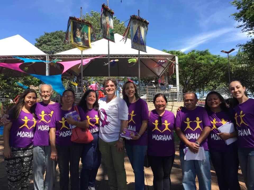 Ação educativa em parceria com a SBH na 25ª Festa da Folia de Reis de Ribeirão Preto