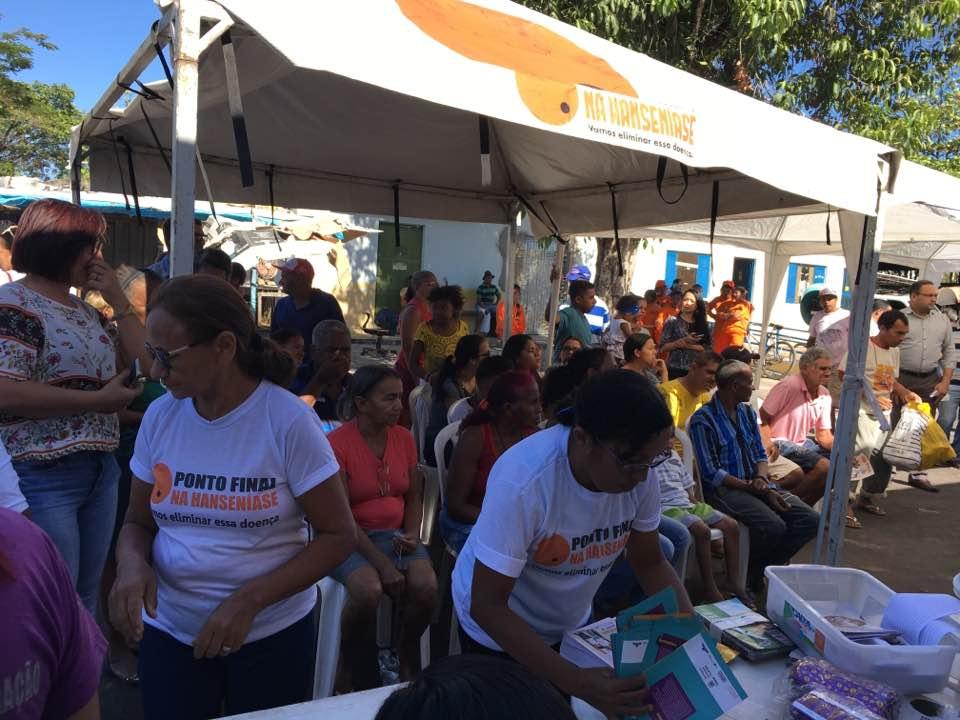 Coordenadora nacional do Morhan, participou da abertura das atividades com a carreta da saúde no município de Timon (Maranhão 17/07/2017)