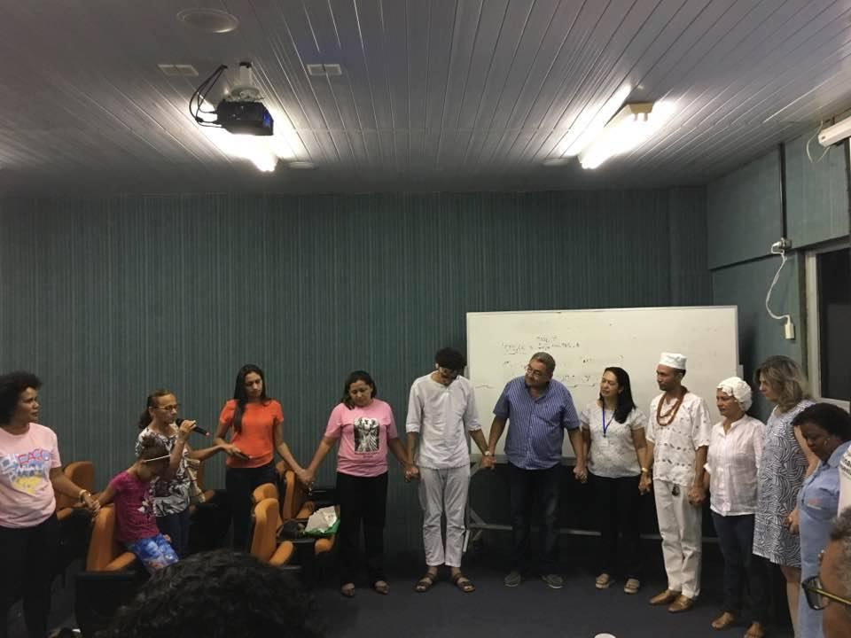Formação promovida, pelo Morhan Piauí, para comunidades tradicionais de terreiros (Piauí,19/07/2017)
