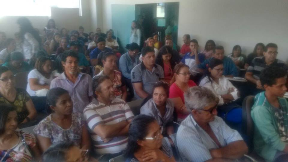Entre usuários atingidos pela hanseníase e profissionais de saúde, se reuniram com o Morhan (Tocantins, Palmas 21/07/2017)