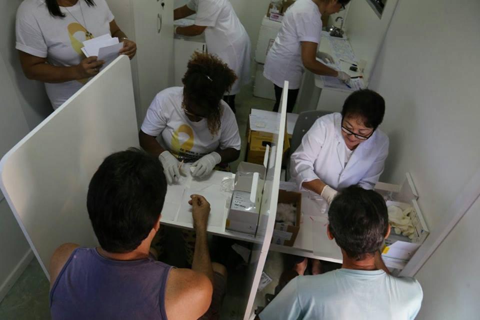 Ato do Fórum Social para Enfrentamento de Doenças Infecciosas e Negligenciadas (Rio de Janeiro, Nilópolis 28/07/2017)