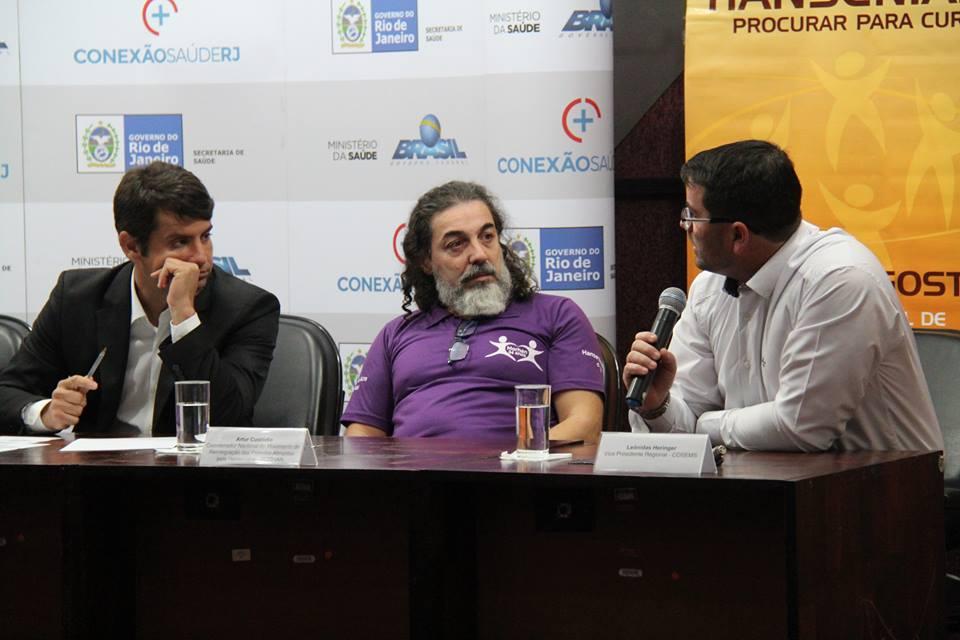 I Seminário Estadual de Mobilização e Combate à Hanseníase do Rio de Janeiro (Rio de Janeiro, RJ, 07/08/2017)