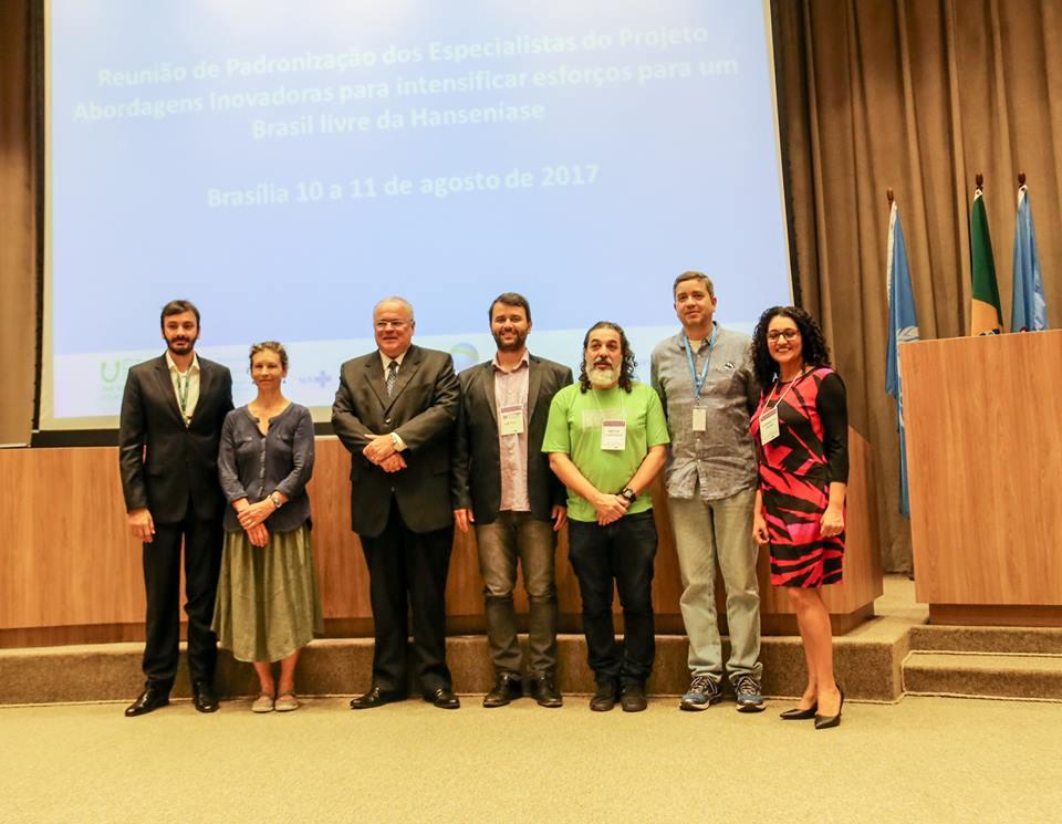 Mobilização que pretende contribuir para a redução da carga de hanseníase em áreas prioritárias em seis estados brasileiros (10/08/2017)