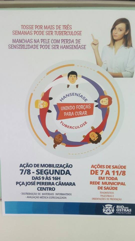 Carretinha da saúde do Morhan ganhou o litoral norte do Estado do Rio de Janeiro (Rio de Janeiro, Rio das Ostras 07/08/2017)