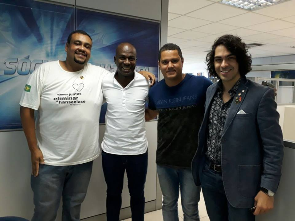 Diretoria de marketing do Cruzeiro Esporte Clube recebeu o Morhan (São Paulo 29/08/2017)