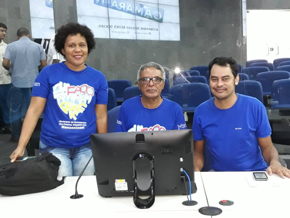 Morhan Piauí participou da Sessão Solene na Câmara Municipal de Teresina em alusão ao Dia Estadual de Conscientização, Prevenção e Combate à Hanseníase (Teresina, Piauí,11/09/2017)