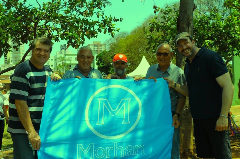 bandeira do Morhan Nacional foi exposta à comunidade do município de Bauru, no Parque Vitória Régia(São Paulo, Bauru 12/10/2017)