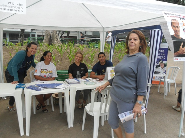 CAMPANHAS NO RJ - PARCERIA COM LIONS CLUB